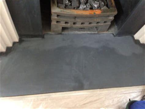 limestone  slate hearth  fireplace