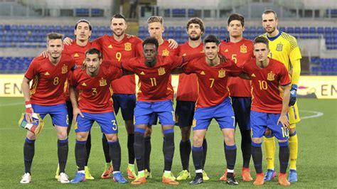 Die spanische nationalmannschaft, spanisch la selección española de fútbol, kurz la selección spanien bei einer fußball weltmeisterschaft. Spanje U21 Nationale elftal