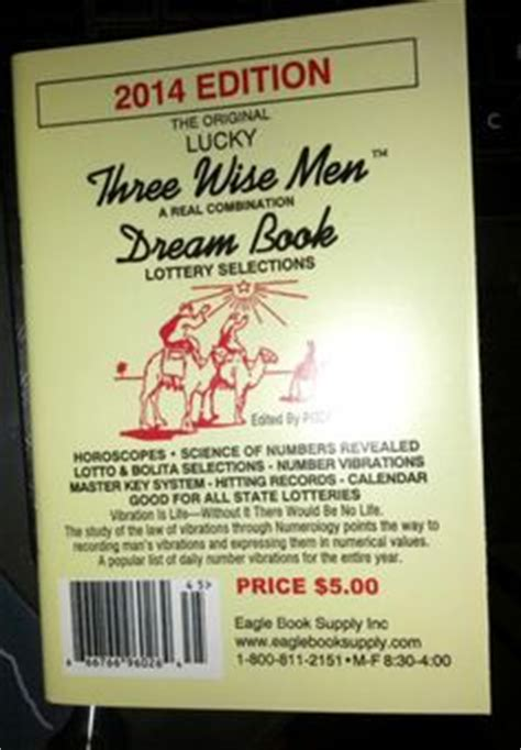 3  Wise Men (lucky Number Dream Book) By Lucky Lucille