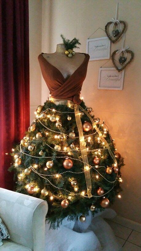 images  dress form christmas trees  pinterest