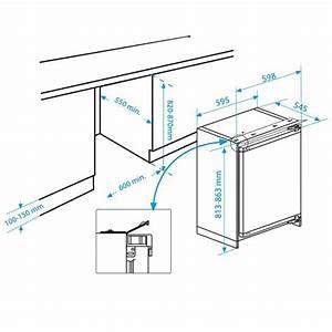 Frigo Encastrable Dimension : dimension frigo top frigo table top bu1152hca frigo hotel ~ Premium-room.com Idées de Décoration