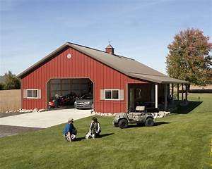 exterior fabulous 30x40 pole barn for captivating home With 30x40 pole barn house