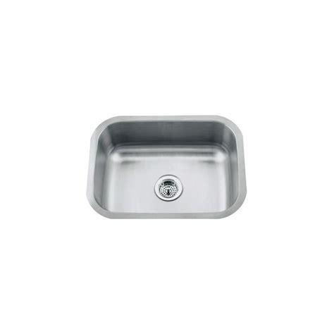 proflo kitchen sinks proflo pfuc308 stainless steel 30 quot single basin undermount 1672