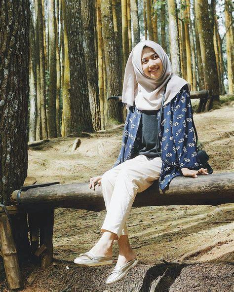 model  style simple baju hijab  anak kuliahan dijamin penampilan bakal kece update