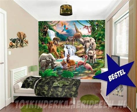 jungle kamer idee kinderkamer ideeen decoratie