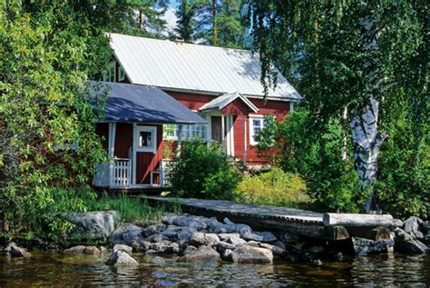 Cottage Finlandia by Lakeside Cottage Paijanne Lakeland Finland Photo
