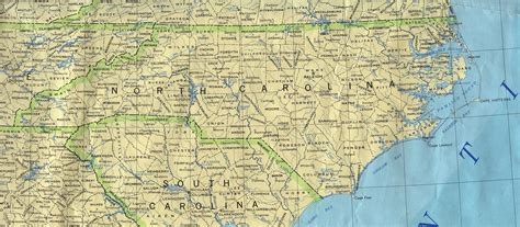 North Carolina Maps - Perry-Castañeda Map Collection - UT ...