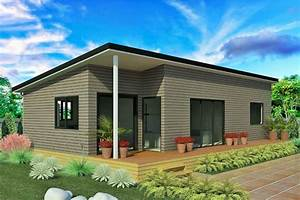 2 bedroom home with weathertex cladding exterior modern