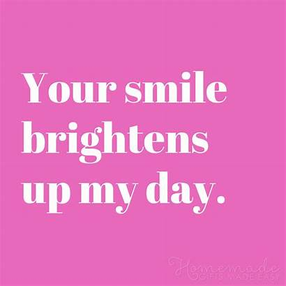 Quotes Boyfriend Smile Brightens Him Sayings Gifts