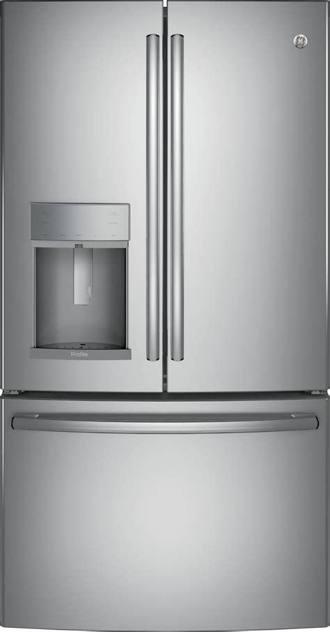 general electric pydkslss  cuft french door refrigerator  door  door stainless steel