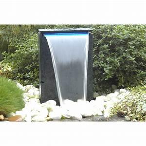 Fontaine Cascade Bassin : kit fontaine ubbink vicenza cascade pompe leroy merlin ~ Premium-room.com Idées de Décoration