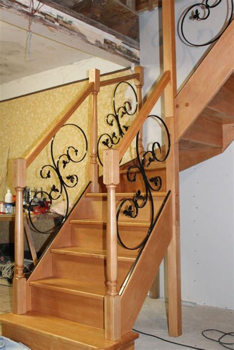 re escalier bois et fer forge escalier bois fer forge 28 images garde corps fer forg 233 pour escalier int 233 rieur ou