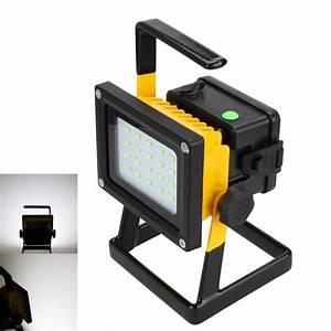 New w led portable outdoor flood light camping