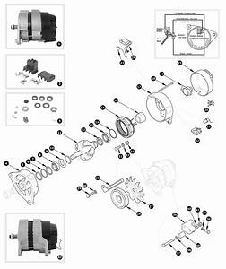 Lucas Alternator 16acr And 17acr Type  70 To 09  72  Tr6 P I  From 01  71