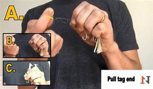 How To Tie The Uni Knot  Diagram  U0026 Step By Step