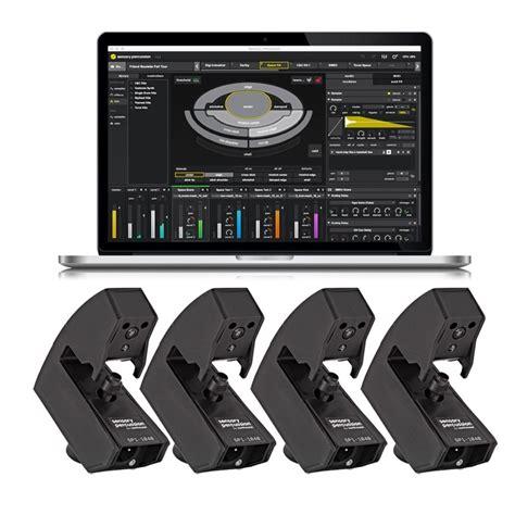sensory percussion drum sensor quad kit  software