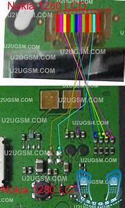 Nokia 1280 White Lcd Display Ways Solution Jumpers