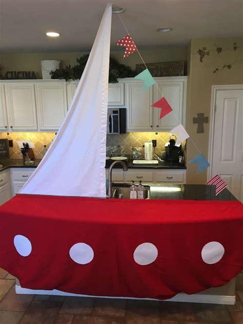 nautical baby shower decor nautical baby shower ideas sailing boat dessert