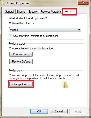 How To Change Windows Anime Folder Icons How To Change Windows Anime Folder Icons Index