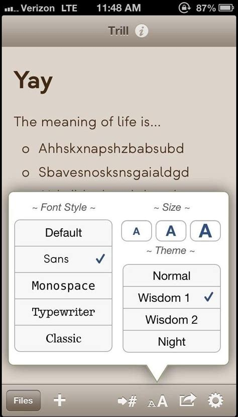 notes     word processing apps