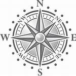 Compass Rose Vector Clip Clipart Medieval Tattoo