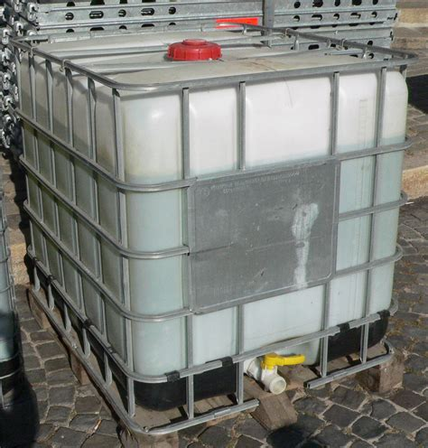 Ceiling Radiation Der Ibc by Intermediate Bulk Container
