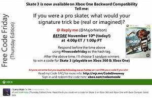 Skate 3 Xbox One Update With Free Download Code U2019 Product