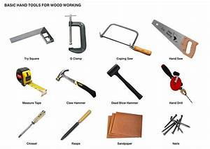 Woodwork Hand Tools PDF Plans