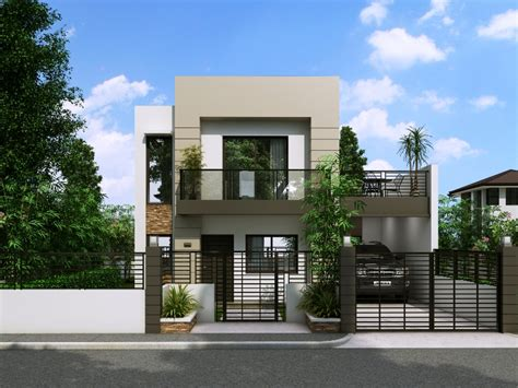 Beautiful Small Storey House Designs by Modern House Design Series Mhd 2014014 Eplans