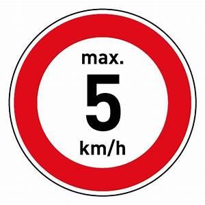 Km H Berechnen : schild geschwindigkeitszeichen tempolimit max 5 km h ~ Themetempest.com Abrechnung