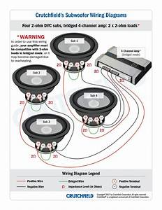Subwoofer Wiring Diagrams At How To Wire Car Speakers Amp