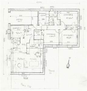 plan maison plain pied 120m2 With plan de maison 120m2 plain pied