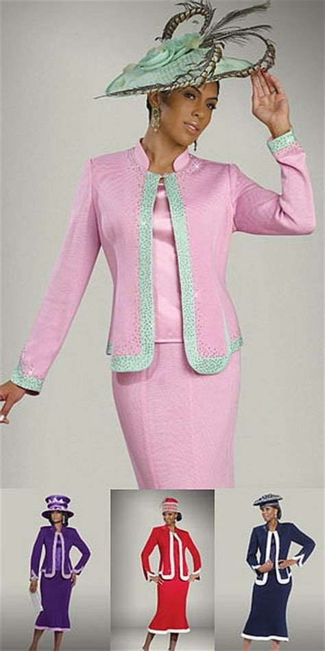 donna vinci knits  womens church suit french novelty