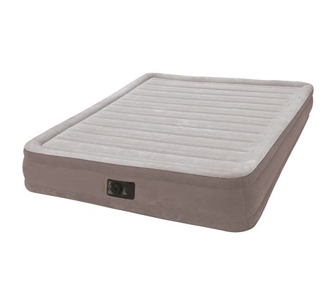 Intex Matelas Gonflable by Matelas Gonflable Intex Grand Confort Fiber Tech 2 Places