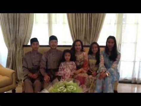 ucapan hari raya mukhriz mahathir keluarga youtube