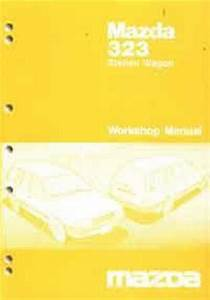 Mazda 323 Bw 02  1986 Station Wagon Factory Workshop Manual