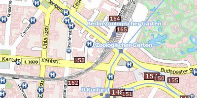 Berlin Zoologischer Garten Bahnhof Plan by Bahnhof Zoo Berlin Kurf 252 Rstendamm Zoologischer Garten