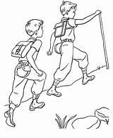 Camping Sheets Trail Coloring Printable Activity Pages Para Sports Camp Colorir Sheet sketch template