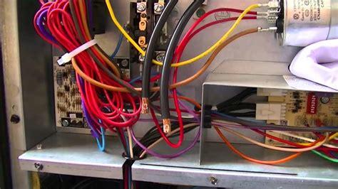 hvac training package unit single point wiring youtube