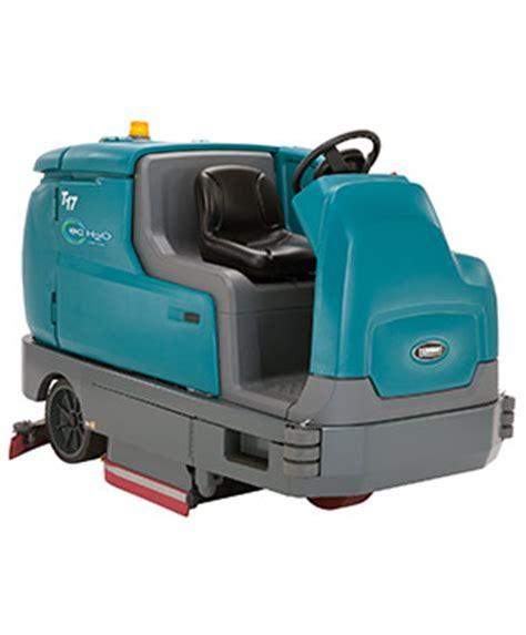tennant t17 rider floor scrubber 8