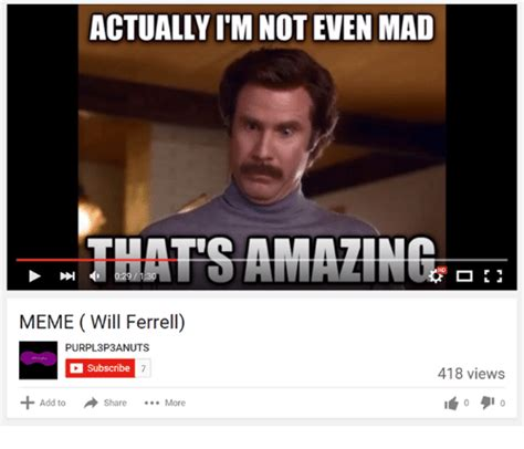 Not Even Mad Meme - funny will ferrell memes of 2016 on sizzle tfw