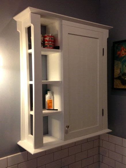 Bathroom Wall Cabinet by How To Build Bathroom Wall Cabinet Diy Pdf Plans