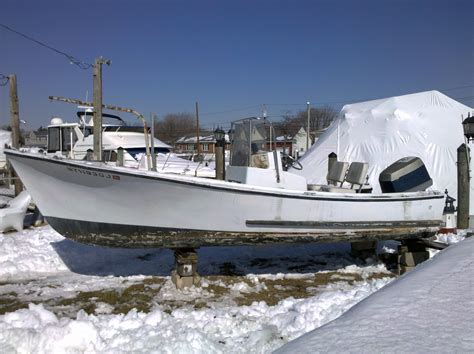 19 Ft Boat by 19 Ft Midland Winter Project The Hull Boating