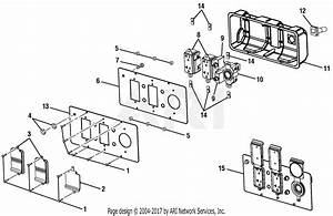 Homelite Ps905055s Powerstroke 5 000 Watt Generator Parts Diagram For Figure C