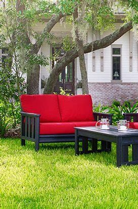 wicker land patio recycled plastic patio furniture