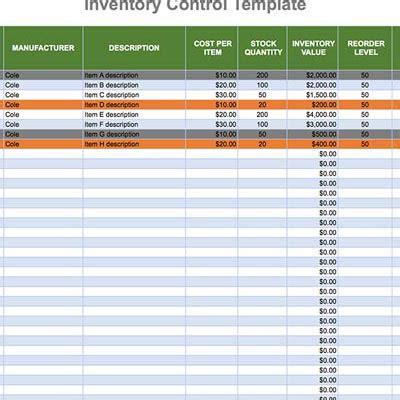 track inventory  excel boxstorm