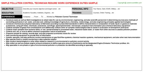 computer technician resume objective sle