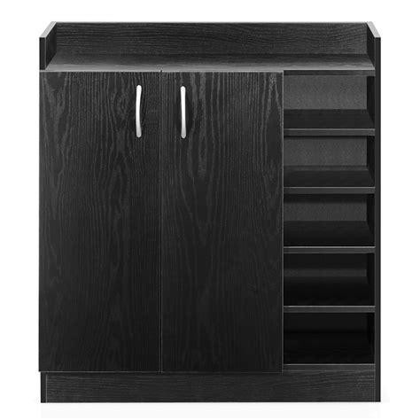 Black Office Cupboard by 2 Door Shoe Cabinet Storage Cupboard Black The Storage