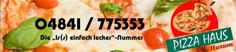 Pizza Haus Husum  Über Uns