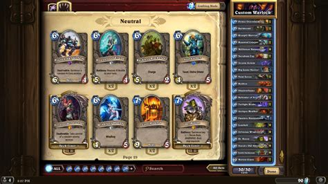 Hearthstone Deck Helper Reddit by List Of Decks Hearthstone